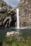 Водопад Fundao - национальный парк Serra da Canastra - мины Gerai Стоковые Изображения RF