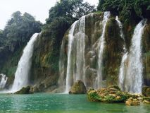 водопад gioc запрета Стоковые Фотографии RF