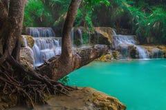 Водопад Guangxi стоковые фотографии rf