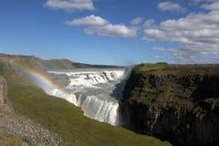 Водопад Gulfoss Стоковое Изображение RF