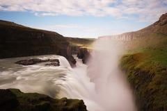 Водопад Gullfoss Стоковая Фотография