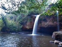 Водопад Haew Suwat Стоковые Изображения RF