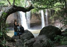 Водопад Haewsuwat Стоковое Изображение RF