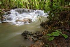 Водопад Kanchanaburi Стоковое Изображение