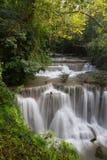 Водопад Kanchanaburi Стоковые Фотографии RF