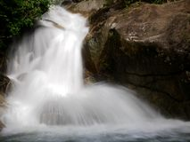 Водопад Kerawang Titi в Penang, Малайзии Стоковое Изображение