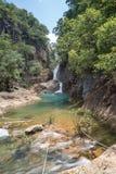 Водопад Klong Phlu на острове Koh Chang или Chang стоковое фото rf