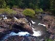 Водопад Kong Kaew стоковое фото rf