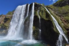 Водопад Krcic в Knin Стоковая Фотография