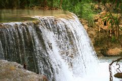 Водопад Kuang Si стоковые изображения