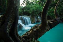 Водопад Kuang Si, prabang Luang Стоковая Фотография RF