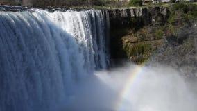 Водопад Laja реки сток-видео