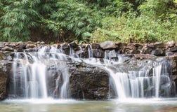 Водопад Litlle в лесе Стоковые Изображения RF
