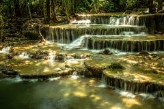 водопад mae khamin huai стоковое изображение rf