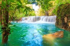 водопад mae khamin huai Стоковая Фотография RF