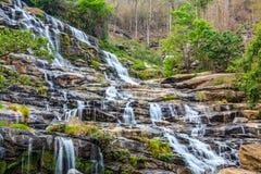 Водопад Mae Ya Стоковая Фотография