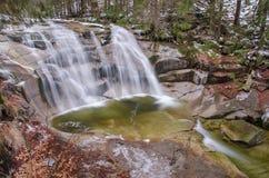 Водопад Mumlava, чехия Стоковые Фотографии RF