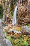Водопад Parida (Cachoeira da Parida) - Serra da Canastra Стоковые Изображения RF