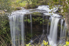Водопад Penpob на национальном парке Phu Kradueng Стоковые Фото