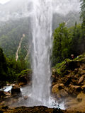 Водопад Pericnik в Словении Стоковая Фотография RF