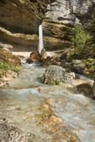 Водопад Pericnik Стоковая Фотография RF
