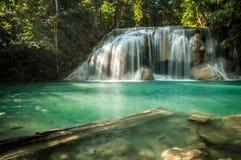 водопад plitvice национального парка Хорватии Стоковые Изображения