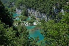 Водопад Plitvice Стоковые Изображения RF