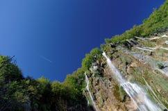 Водопад Plitvice Стоковая Фотография RF