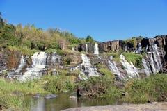 Водопад Pongour, Вьетнам Стоковое Изображение