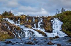 Водопад, Reykjavik Стоковое Фото