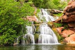 Водопад Sant Miquel del Fai, Испания Стоковые Изображения RF