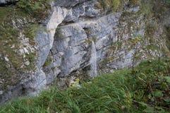 Водопад Savica, Словения Стоковое Изображение