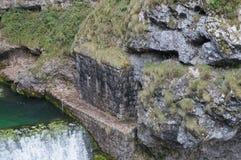 Водопад Savica, Словения Стоковые Изображения RF