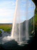 Водопад Seljalandfoss (Исландия) Стоковые Фото