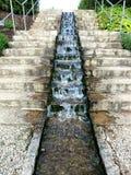 Водопад Serie между разделами 1 Стоковое фото RF