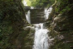 Водопад Shapsugs этапа Стоковое Изображение