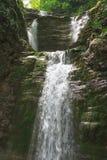 Водопад Shapsugs этапа Стоковое фото RF