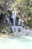 водопад si prabang luang Лаоса kuang Стоковое фото RF