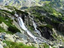 Водопад Skok, высокие горы Tatras, Словакия Стоковая Фотография RF