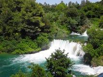 Водопад Skradinski Buk Стоковые Изображения