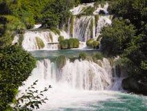 Водопад Skradinski Buk Стоковое фото RF