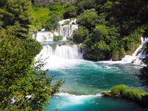 Водопад Skradinski Buk Стоковые Фотографии RF