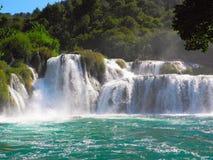 Водопад Skradinski Buk Стоковое Фото