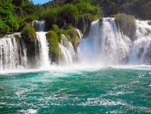 Водопад Skradinski Buk Стоковая Фотография
