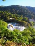 Водопад Skradinski Buk Стоковые Изображения RF