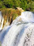 Водопад Skradinski Buk Стоковые Фото