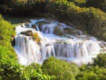 Водопад Skradinski Buk Стоковое Изображение
