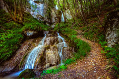 Водопад Sopote Стоковое Изображение RF