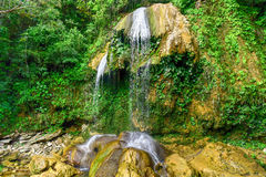 Водопад Soroa - Pinar del Rio, Куба Стоковое Изображение RF