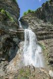 Водопад Sorrosal в Broto, Уэске Стоковая Фотография